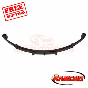 Rancho Front Lift Kit Component For 1991 1993 Jeep Wrangler Base 4wd