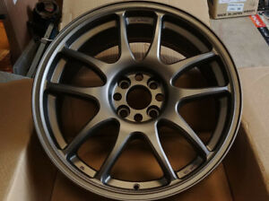 Work Emotion Cr Kai 17x7 32 Pcd4x100 Bronze Single Wheel Only New