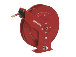 Reelcraft 7650 Olp 3 8 50 Ft Spring Retractable Hose Reel 300 Psi