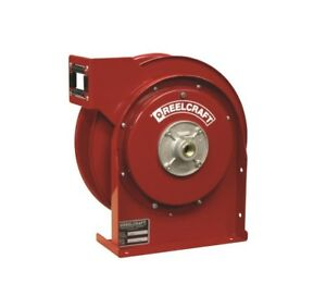 Reelcraft 4600 Olp 3 8 25 Ft Spring Retractable Hose Reel 500 Psi