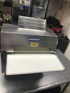 Somerset 20 Dough Roller Sheeter Cdr 2100s For Pizza Pasta Pie Crusts Etc