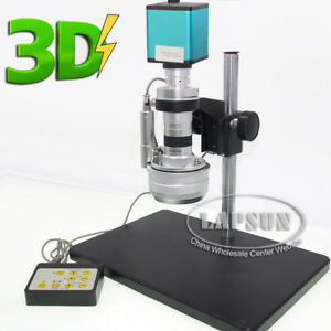 Motor Action 3d Stereo Lens Jewelry Digital Hdmi Microscope Camera Sony Imx290 U