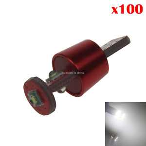 100x White Car T10 W5w Tail Bulb Clearance Lamp Pcb 3 Cree Led 280 285 447 Z2054