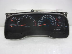2000 2001 Dodge Ram 1500 At Mph Speedometer Head Cluster 56045780ab 114k Oem