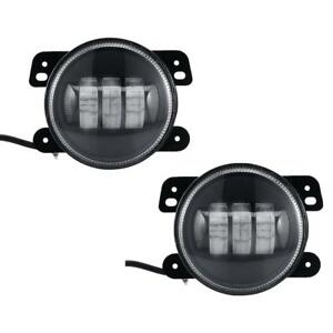 Super Bright Led Fog Driving Drl Light Fit 07 14 Jeep Wrangler Jk 4 Inch pair