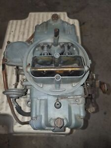 600 Holley Carburetor For 396 Chevy Chevelle