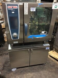 Rational Scc We 61 Selfcooking Center Electric Combi Steamer Oven With Stand