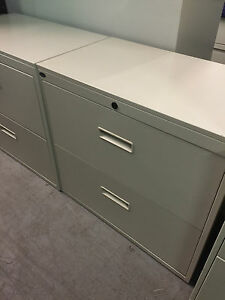 2dr 30 w Lateral Size Fle Cabinet By Herman Miller Office Furn W Lock