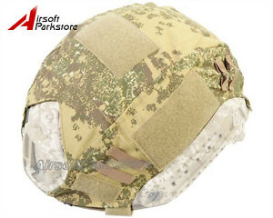 Emerson Tactical Helmet Cover Badland Camo for Ops-Core Fast Helmet BJPJMH