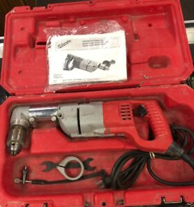 Milwaukee 1107 1 1 2 Right Angle Drill free S h