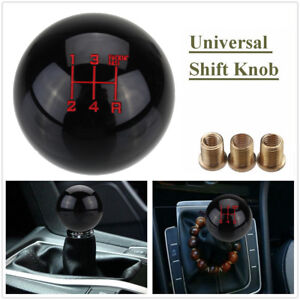 5 Speed Round Ball Gear Shift Knob Short Shifter Fing Fast Universal M10x1 5 Us