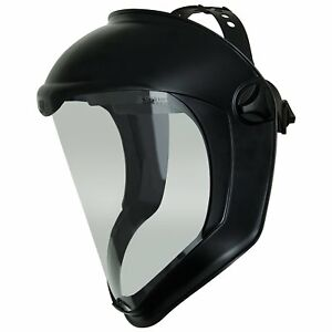 Uvex Bionic S8510 Safety Face Shield Clear Anti fog Polycarbonate Grinding Z87 1