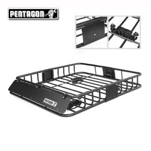 Universal Suv Car Luggage Holder Cargo Carrier Basket Top Racks Travel 36 X 36