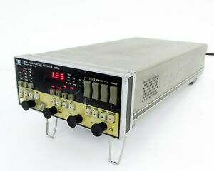 Hp 8116a Programmable Pulse function Generator 1 Mhz 50mhz