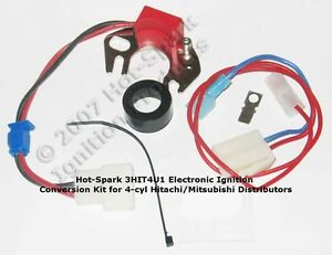 Electronic Ignition Replaces Points In 4 Cyl Datsun Nissan 3hit4u1