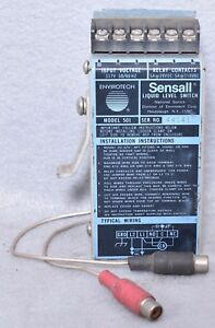 Envirotech Sensall Model 501 Liquid Level Switch
