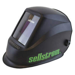 Sellstrom Welding Helmet whm 2000 Series black S26200 Black