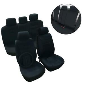 Car Seat Covers Universal Bench Cover Low Back Seat Covers Comfortable