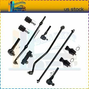Fits Jeep Grand Cherokee 4 0l 11pcs Front Steering Ball Joint Tie Rod Track Bar