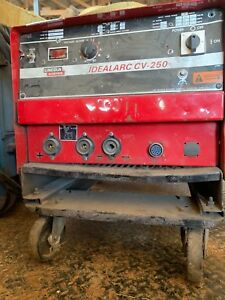 Lincoln Idealarc Cv 250 Welder