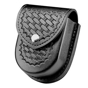 Safariland 290h 1 4 Cuff Case Basketweave Black