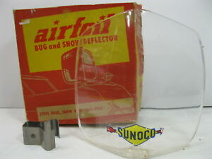 Airfoil Sunoco Bug And Snow Deflector With Original Box Vintage