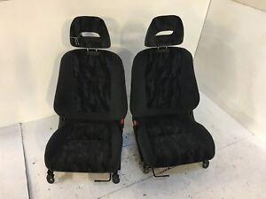 Jdm Used 94 01 Dc2 Sir G Gsr Front Seats And Rear Seats Complete