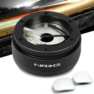 Nrg Srk 186h Steering Wheel Hub Adapter Black 3r Blind Mirror For 85 88 Vw Golf