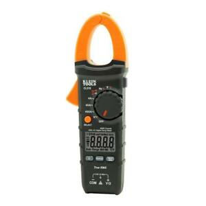 Klein Tools Digital Clamp Meter 400 Amp Ac True Rms Auto Ranging Measures Rated