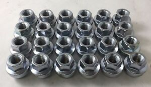 Set 24 Hub Cap Factory Replacement Lug Nuts 14mmx2 0 Fits Ford F150 04 14 W60223