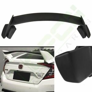 Type R Style Trunk Wing Spoiler Body Kit Fit For 2016 2019 Honda Civic Hatchback