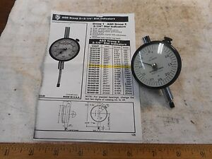 New Scherr Tumico Adg Group 2 Dial Indicator W Original Box 001 125 Range