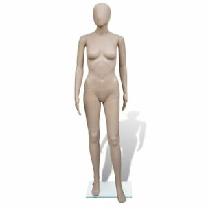 Full Body Mannequin Women Round Head Mannequin Clothes Dress Form Display Model