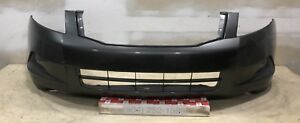 Oem 2008 2010 Honda Accord Sedan Ex Lx Ex L W O Fog Lights Front Bumper Cover