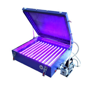 Screen Printing 6070 Vacuum Led Exposure Unit Precise Screen 24 26 In Pump Out