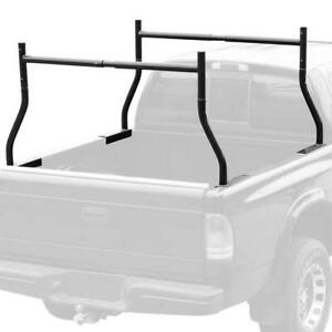 Adjustable Utility Work Pick Up Truck Double Ladder Racks Lumber Kayak Rack