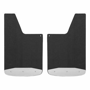 Luverne Universal Textured Rubber Mud Guards Black 250014