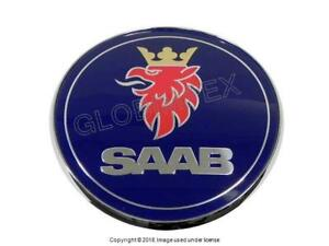 Saab 9 3 1999 2003 Trunk Emblem Genuine 1 Year Warranty