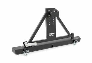 Rough Country Classic Full Width Bumper W Tire Carrier For Wrangler Tj 10592a