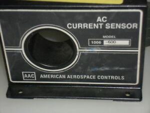 American Aerospace Controls Ac Current Sensor 1006 600 used