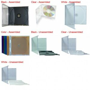 Standard Cd Jewel Case With Tray 10 4mm