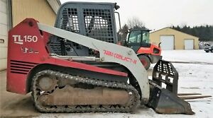2004 Takeuchi Tl150 Tracked Skid Steer 3870 Hours