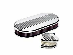 Billet Specialties 15650 Oval Air Cleaner Dual Quad