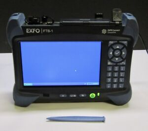 Exfo Ftb 1 s2 8g Ethernet Fiber Optic Otdr Network Tester Ftb 720 23b ea