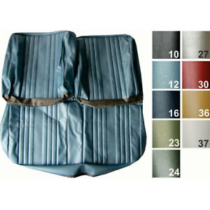 Pui 69as12b Standard Bench Seat Cover 1969 Chevelle el Camino Light Blue