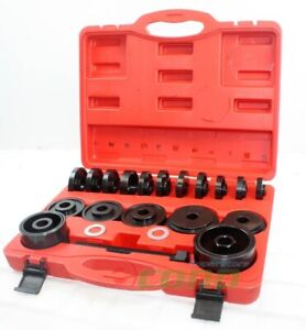 23pc Fwd Front Wheel Drive Bearing Press Removal Adapter Puller Pulley Tool