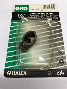 Gnd 1 2 Ground Rod Clamp 43591 New Free Shipping