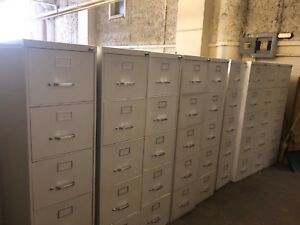 5dr 15 w X 28 1 2 d Letter File Cabinet By Steelcase Office Furniture In White
