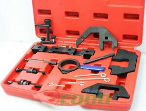 Bmw Engine Vanos Timing Belt Crankshaft Locking Tool Kit Set Cam Lock Flywheel