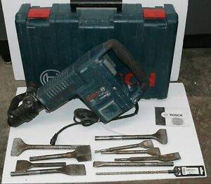 Bosch 11316evs Sds max Demolition Hammer W Case And 9 Bits gc vgc